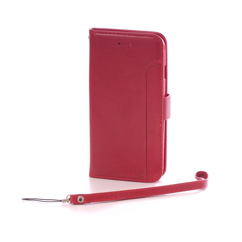 Image of Lædercover med håndledsrem til iPhone